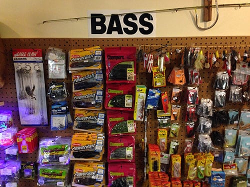 fishing tackle in dewitt illinois